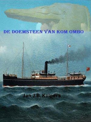 cover image of De doemsteen van Kom Ombo
