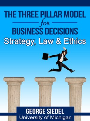 cover image of The Three Pillar Model for Business Decisions
