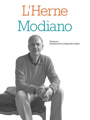 cover image of Cahier Modiano
