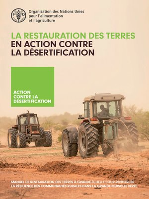 cover image of La restauration des terres en action contre la désertification