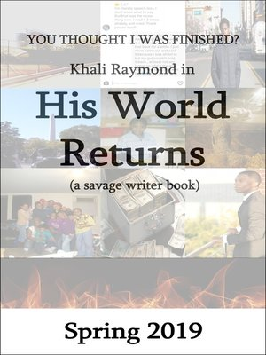 cover image of His World Returns