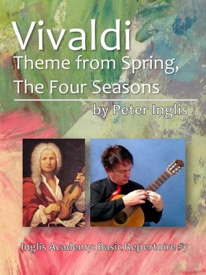 cover image of Vivaldi, Theme from Spring, the Four Seasons