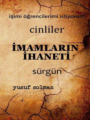 cover image of İmamların İhaneti