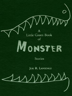 cover image of A Little Green Book of Monster Stories