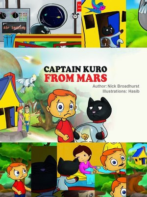 cover image of Captain Kuro From Mars