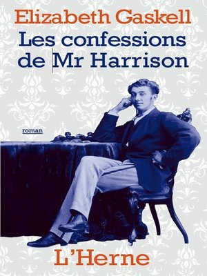 cover image of Les confessions de Mr Harrison