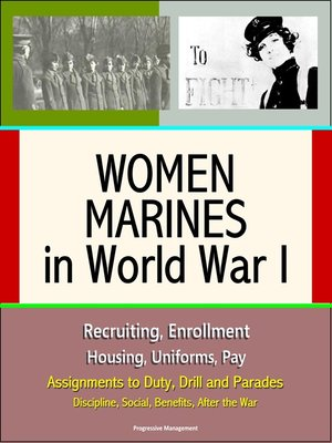 cover image of Women Marines in World War I