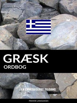 cover image of Græsk ordbog
