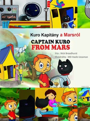cover image of Kuro Kapitány a Marsról