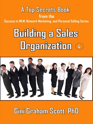 cover image of Top Secrets for Building a Sales Organization