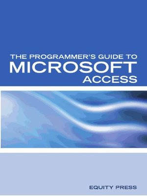 cover image of The Programmer's Guide to Microsoft Access