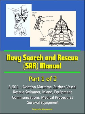 cover image of Navy Search and Rescue (SAR) Manual--3-50.1--Part 1 of 2--Aviation Maritime, Surface Vessel, Rescue Swimmer, Inland, Equipment, Communications, Medical Procedures, Survival Equipment