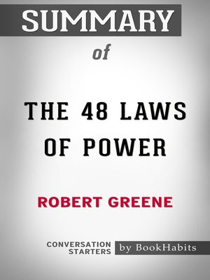 cover image of Summary of the 48 Laws of Power by Robert Greene / Conversation Starters