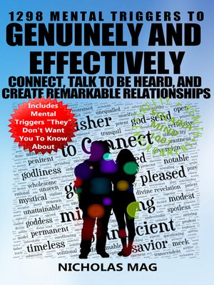 cover image of 1298 Mental Triggers to Genuinely and Effectively Connect, Talk to be Heard, and Create Remarkable Relationships