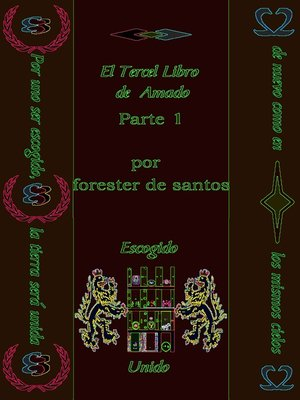 cover image of El Tercer Libro de Amado