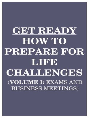 cover image of Get Ready