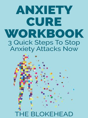 cover image of Anxiety Cure Workbook