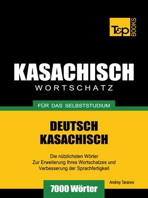 cover image of Deutsch-Kasachischer Wortschatz für das Selbststudium