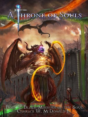cover image of Black Mirrors of the Soul (Book 2 of a Throne of Souls)