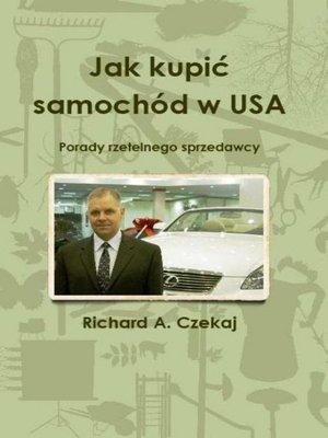 cover image of Jak kupić samochód w USA