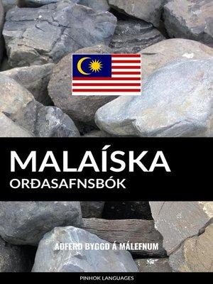 cover image of Malaíska Orðasafnsbók