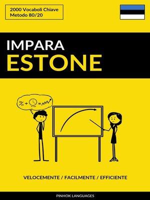 cover image of Impara l'Estone