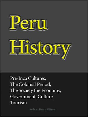 cover image of Peru History
