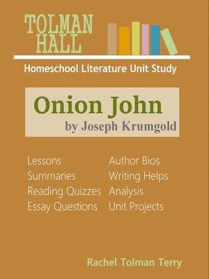 cover image of Onion John by Joseph Krumgold
