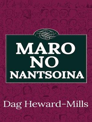 cover image of Maro no Nantsoina