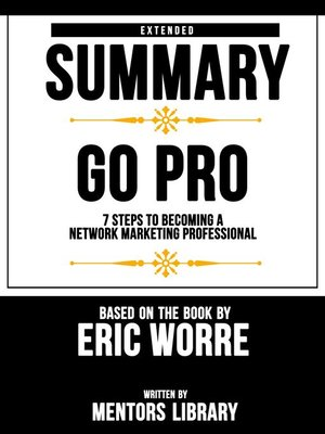 cover image of Extended Summary / Go Pro