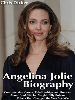 cover image of Angelina Jolie Biography