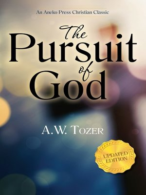 cover image of The Pursuit of God (Updated Edition)