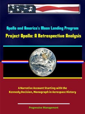 cover image of Apollo and America's Moon Landing Program