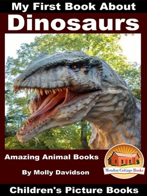 cover image of My First Book About Dinosaurs