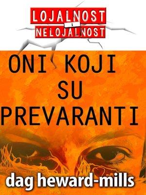 cover image of Oni Koji Su Prevaranti