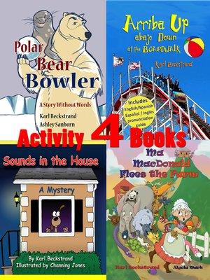cover image of 4 Activity Books