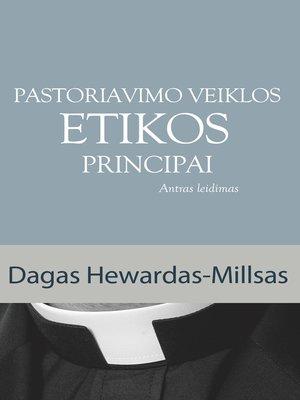 cover image of Pastoriavimo Veiklos Etikos Principai
