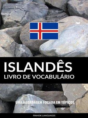 cover image of Livro de Vocabulário Islandês