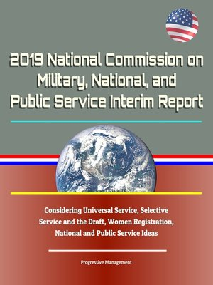cover image of 2019 National Commission on Military, National, and Public Service Interim Report