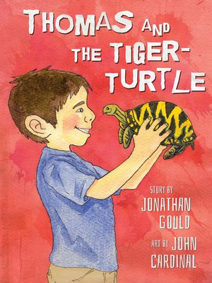 cover image of Thomas and the Tiger-Turtle