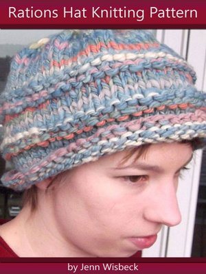 cover image of Rations Hat Bulky Knitting Pattern