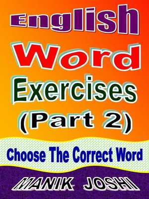 cover image of English Word Exercises (Part 2)