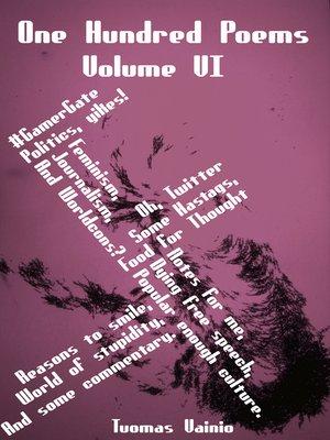 cover image of One Hundred Poems, Volume VI