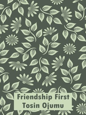 cover image of Friendship First
