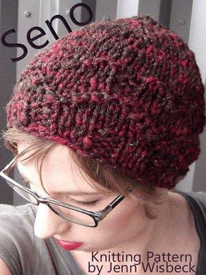 cover image of Seno Hat Knitting Pattern