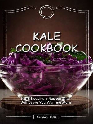 cover image of Kale Cookbook