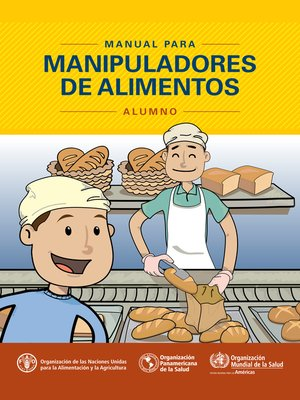 cover image of Manual para manipuladores de alimentos