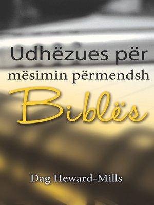 cover image of Udhëzues për mësimin përmendsh të Biblës