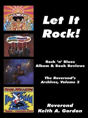 cover image of Let It Rock! the Reverend's Archives, Volume 3