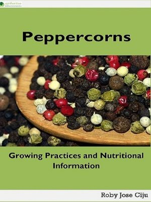 cover image of Peppercorns